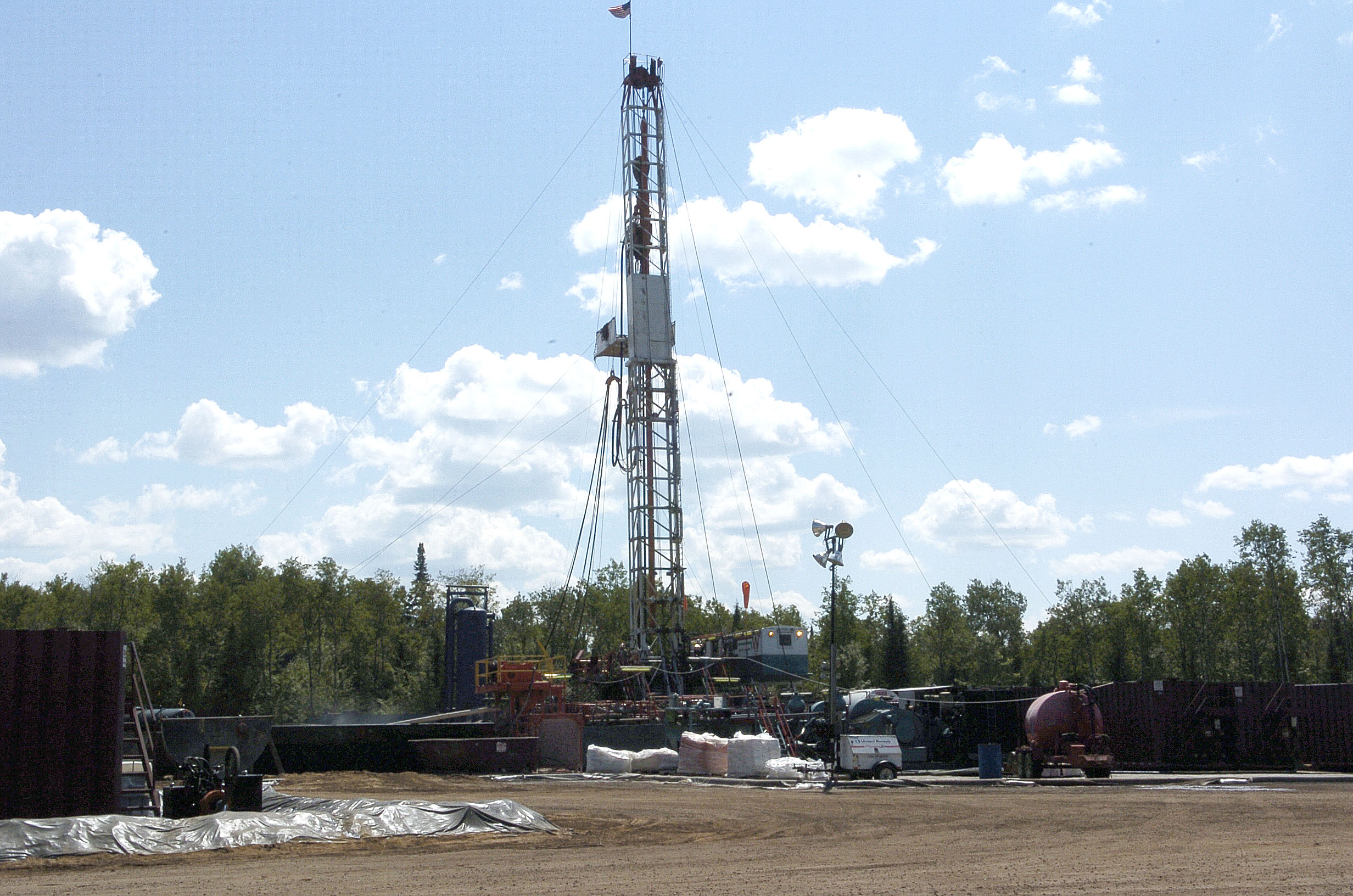 Excelsior fracking operation in Kalkaska, MI