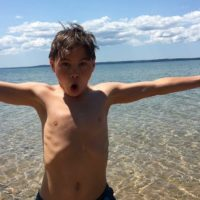 "A Young Organizer Raises Awareness with a June 3 ""Floatila"" in Traverse City"
