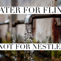 Water for Flint, Not for Nestlé