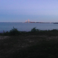 Spending a Night Under the Stars along the Straits of Mackinac
